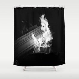 Still (b&w) Shower Curtain