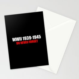 Commemoration WW2 1939-1945 Stationery Cards