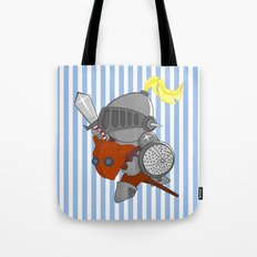 little knight in armor Tote Bag