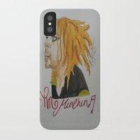 tim shumate iPhone & iPod Cases featuring Tim Minchin. by TheArtOfFaithAsylum