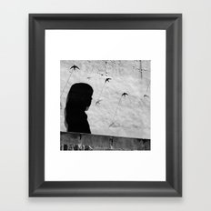Girl in Córdoba Framed Art Print