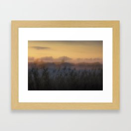 Misty Dusk Framed Art Print