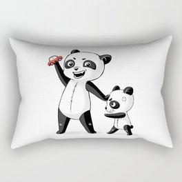Panda Brothers Rectangular Pillow