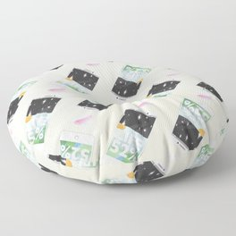 Charge Your Life Floor Pillow