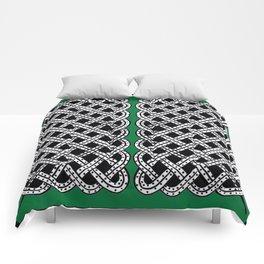 Green Snake Design Comforters