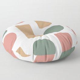 3 Colors Pattern  Floor Pillow