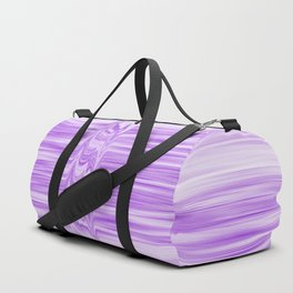 Glitched flowing ultra-violet stripes Duffle Bag