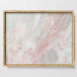 Softest blush pink marble Serving Tray