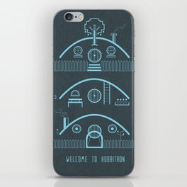 Welcome to Hobbitron iPhone Skin