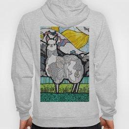 Llama and Andes Hoody