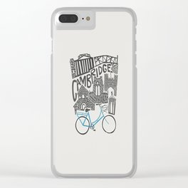 Cambridge Cityscape Clear iPhone Case
