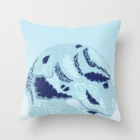 globe Throw Pillows featuring Globe by Jamie Bryan
