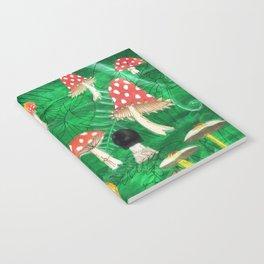 Mushroom Party Notebook