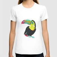 toucan T-shirts featuring Toucan by Félin & Flora