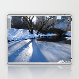 White Central Park4 Laptop & iPad Skin