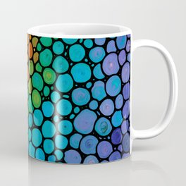 Blissful - Colorful Mosaic Art - Sharon Cummings Coffee Mug