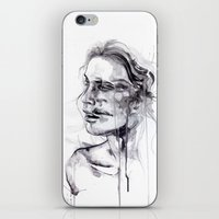 butterfly iPhone & iPod Skins featuring Tremore by agnes-cecile