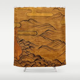 The Last Tide Shower Curtain
