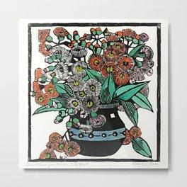 """Australian Gum Blossoms"" by Margaret Preston Metal Print"