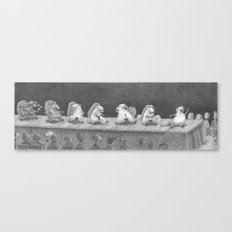 Hot Dam Canvas Print