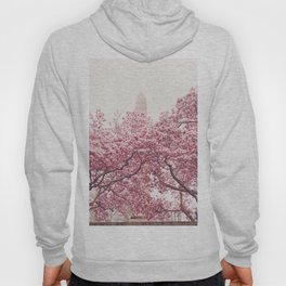 New York City - Central Park - Cherry Blossoms Hoody