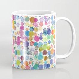 Watercolor Drops Coffee Mug