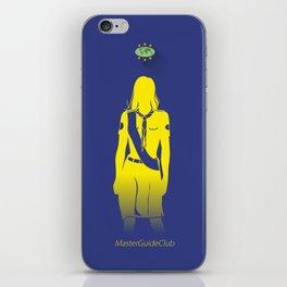 GuiaMayor Dama - Lady MasterGuide iPhone Skin