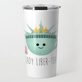 Lady Liber-tea Travel Mug