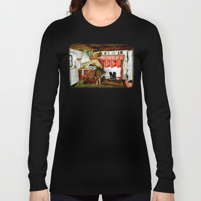 Searching After Memories Long Sleeve T-shirt
