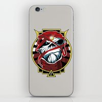 iron maiden iPhone & iPod Skins featuring Tribute Iron Maiden by JHC Studio