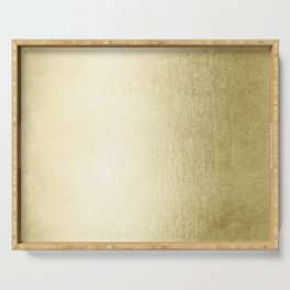 Simply Gilded Palace Gold Serving Tray
