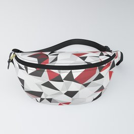 abstract polygonal art Fanny Pack