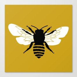 Bee world Canvas Print