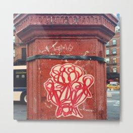 Street Art of New York, 09.23.16 Metal Print