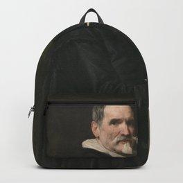 Diego Velázquez - Portrait of Juan Martínez Montañes Backpack
