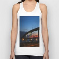 bridge Tank Tops featuring Bridge by Alyssa Gioia