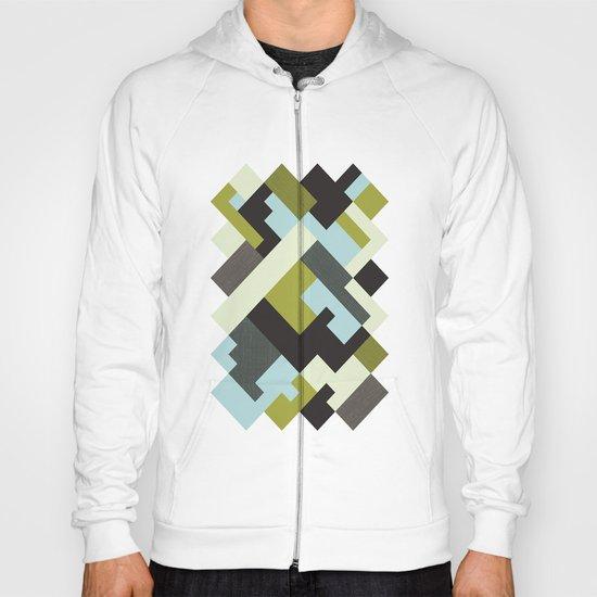 Rectangular geometric Hoody