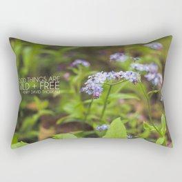 wild + free. Rectangular Pillow