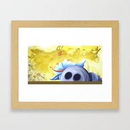 lucky stone Framed Art Print