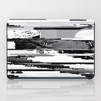 glitch iPad Cases featuring Glitch by poindexterity