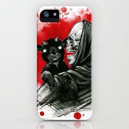 Mama´s little devil iPhone Case