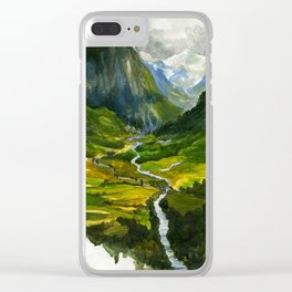 The Hidden Valley (original) Clear iPhone Case