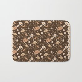 Flower fields Bath Mat