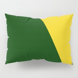 Green-Yellow Pillow Sham