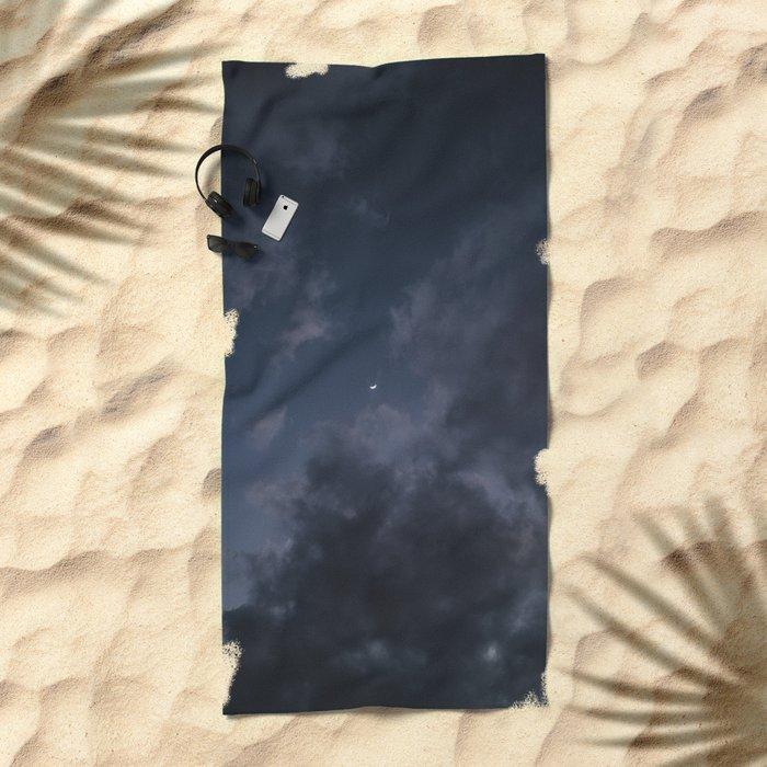 Hawaiian Moon II Beach Towel