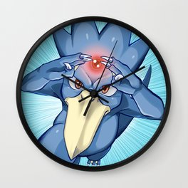 Golduck Wall Clock