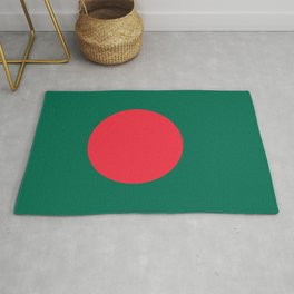 Flag of Bangladesh, Authentic color & scale Rug