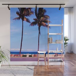 summertime blues Wall Mural