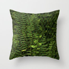 Caged Life Throw Pillow