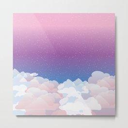 Ethereal Skies Metal Print